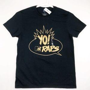 Changes YO! MTV RAPS Mens Graphic T-Shirt